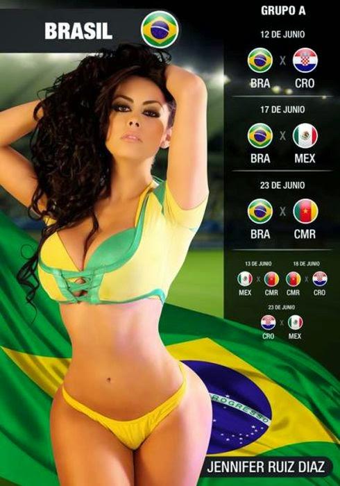Enko-football: New calendar on the subject of the World ...