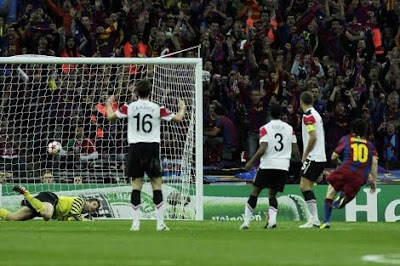 gol de messi champions league 2011