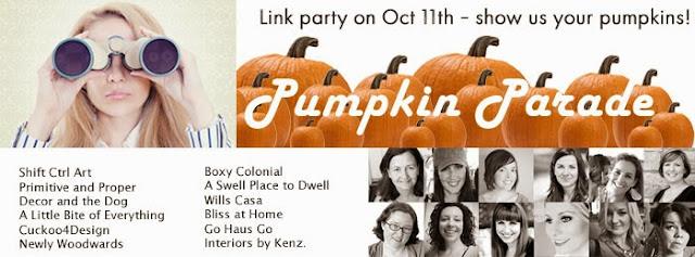 Pumpkin Parade Link Party