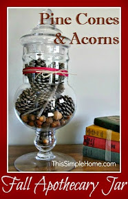 Fall Apothecary Jar