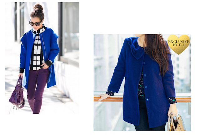 http://www.tandjdesigns.com/view-all/cobalt-blue-bow-coat/