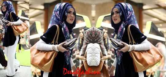 Trend Jilbab Bunga Musim Panas 2014