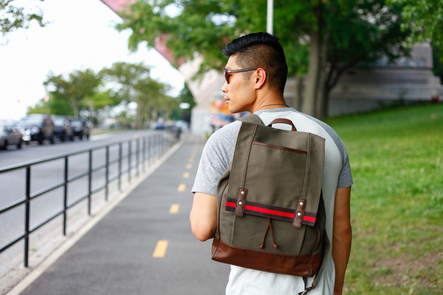 Levitate Style x JcPenney Collaboration | Summer Style Looks with Levi's, Fossil Backpack