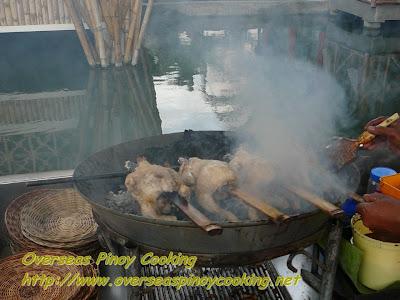 Isdaan sa Calauan - Lechon Manok