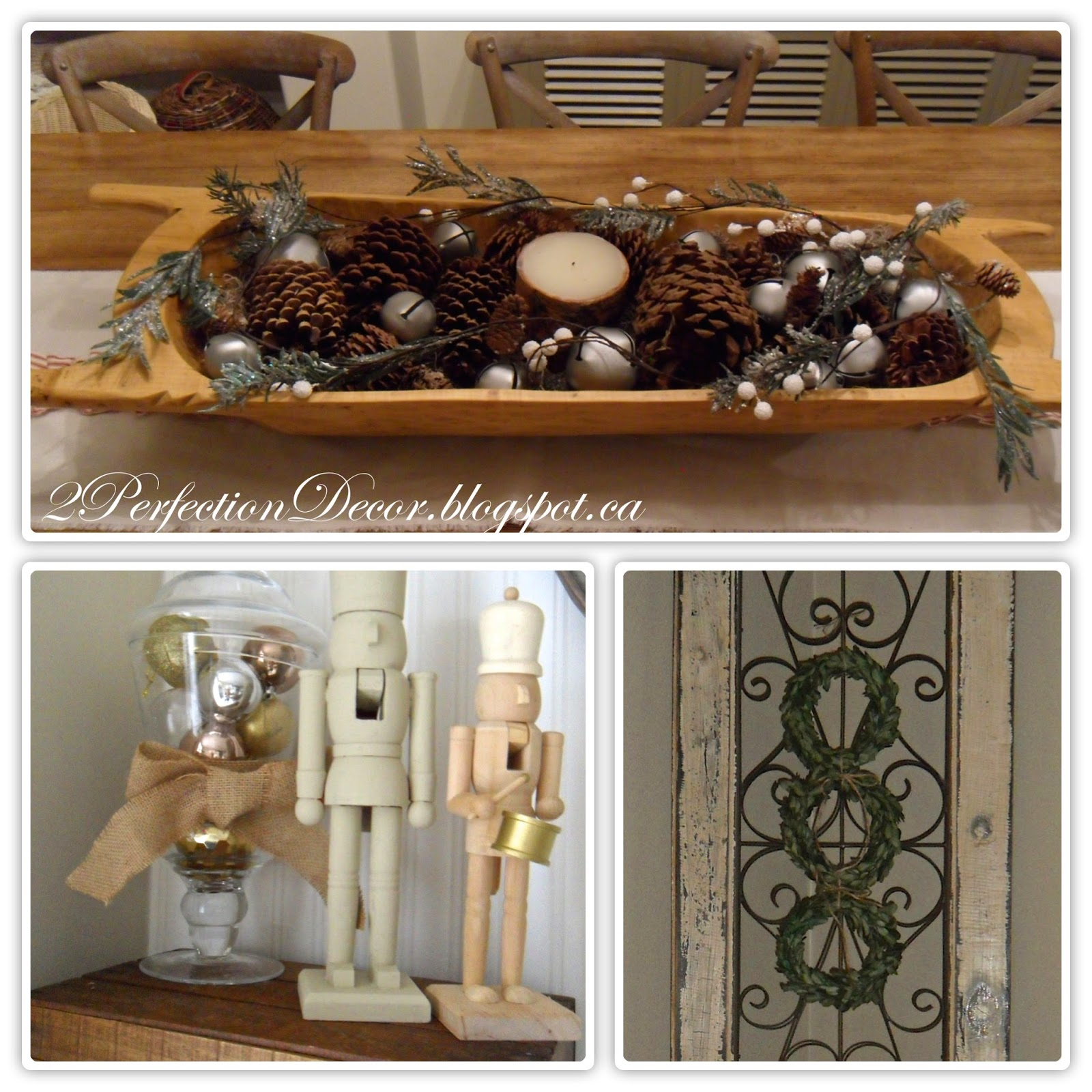 Our Guide To Holiday Home Decor: 2Perfection Decor: Our Neutral Holiday House Tour