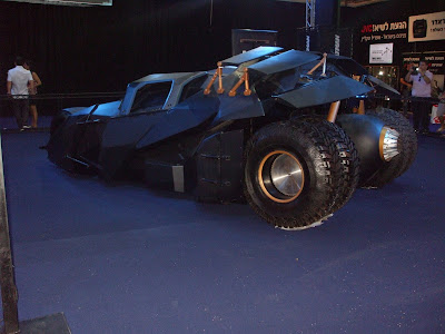 Christopher Nolan's Batmobile at AutoMotor Tel Aviv 2013