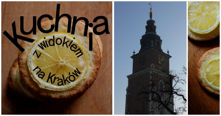Kuchnia z widokiem na Kraków.