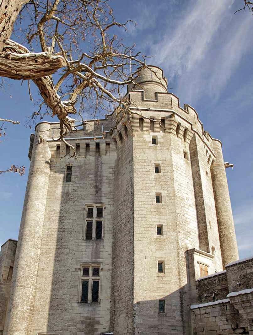 Torre de menagem do castelo de Vez, Picardie, França