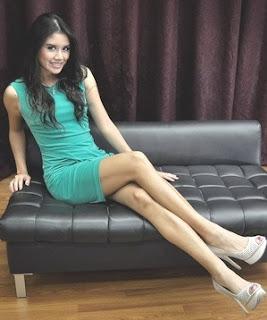 Foto-Foto Seksi Ines Putri Tjiptadi Miss Indonesia 2012