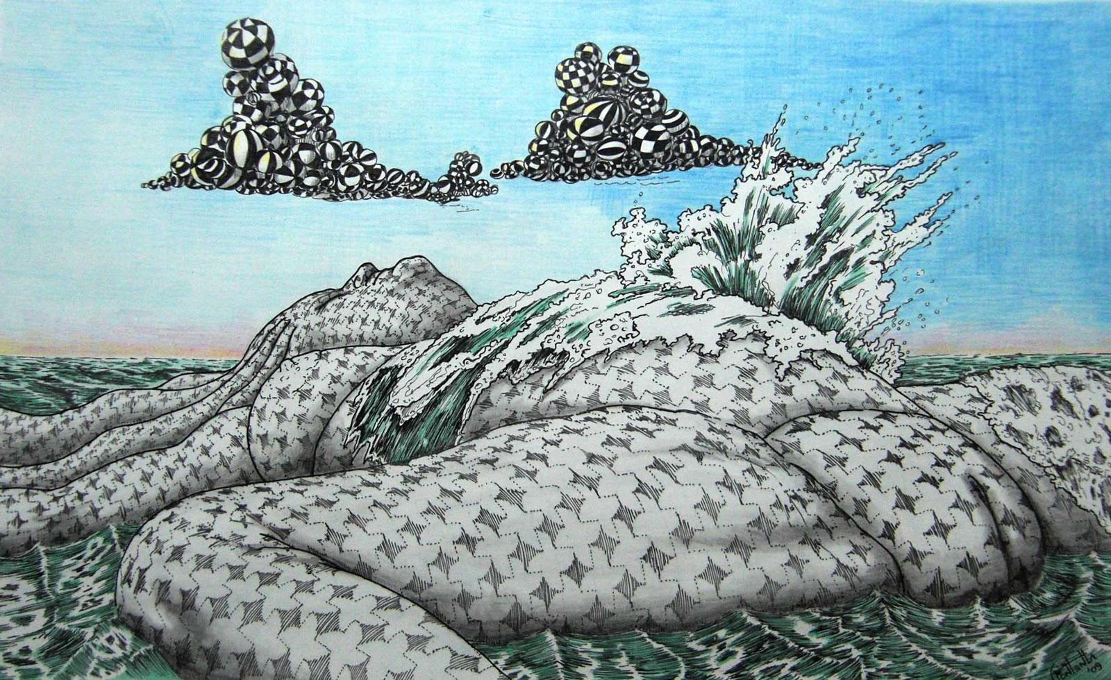 Cesar Fontenla  Arte y Diseo  Murales Dibujos y Acuarelas