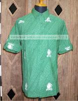 Baju Batik Android Hijau