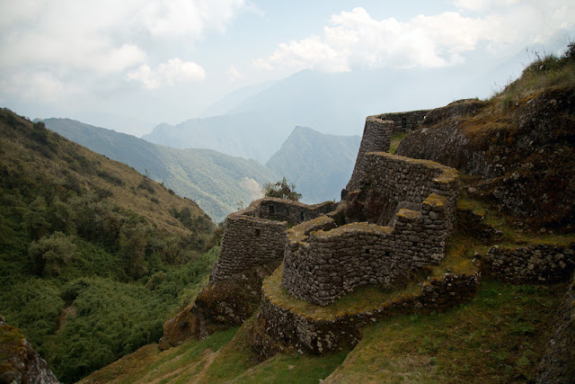 A photograph of Sayacmarka taken on the 3rd day of the Inca Trail in Peru