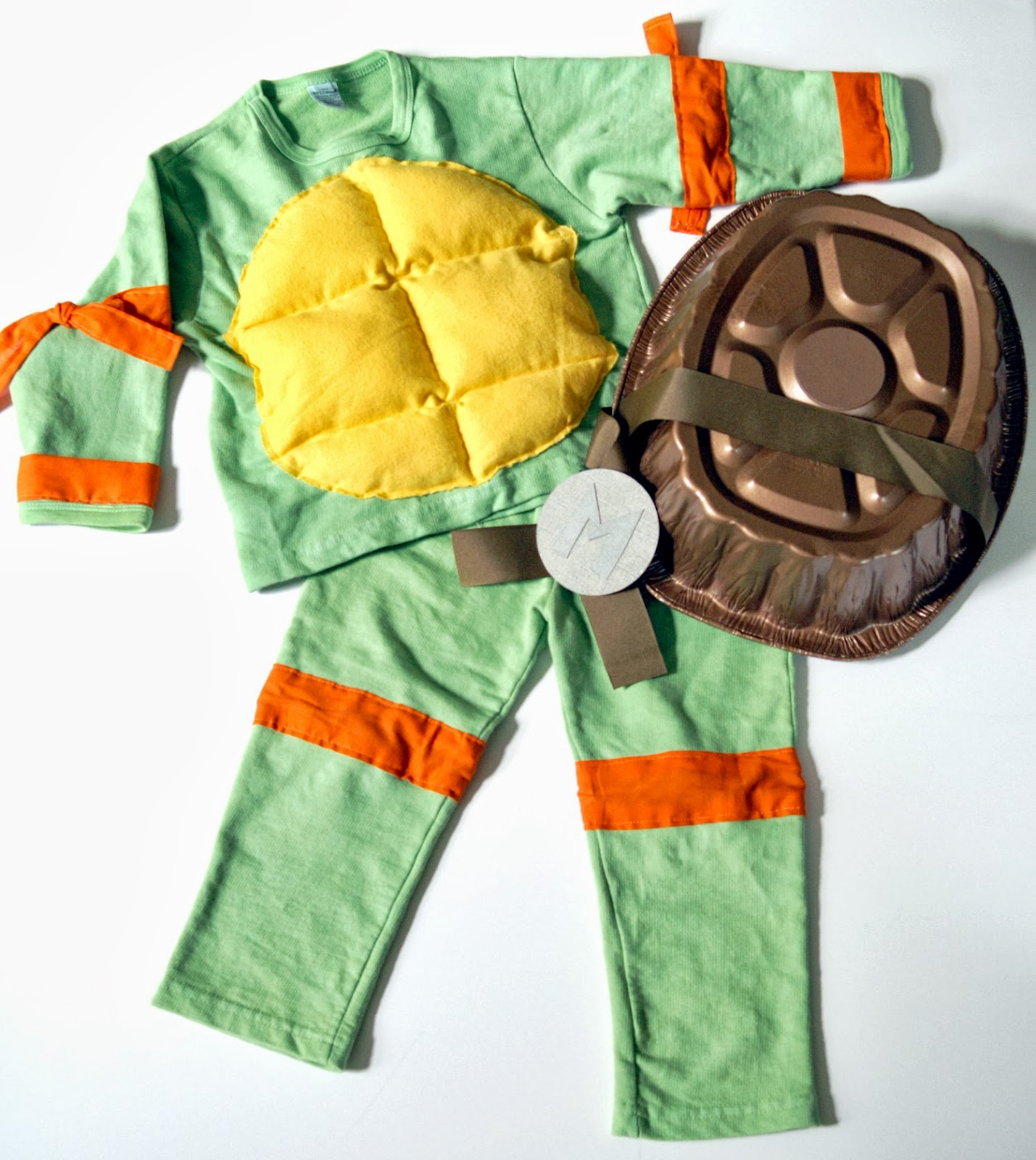 Teenage mutant ninja turtle costumes tmnt the scrap shoppe i would say depending on how much the sweats cost you can make this outfit for 15 which is definitely cheaper than you can purchase the costume solutioingenieria Image collections