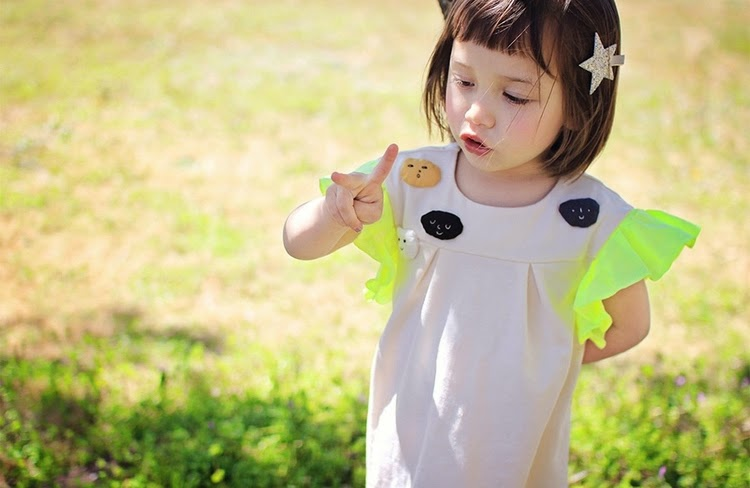 Annika Counong Dress - Jujubunnyshop spring 2014 kids fashion collection