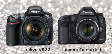 Nikon D800 or Canon EOS 5D Mark III