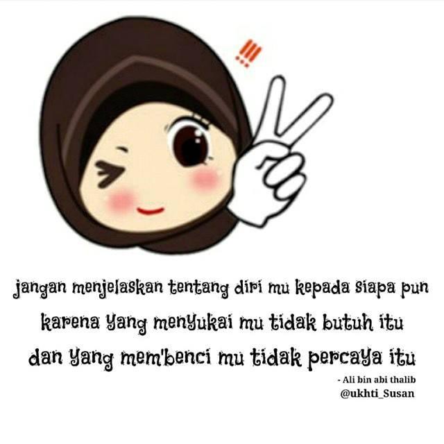 Foto Animasi Dp Bbm Wanita Muslimah
