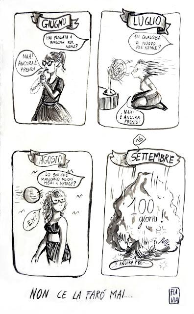 vita da crafter - comics-100 giorni a natale