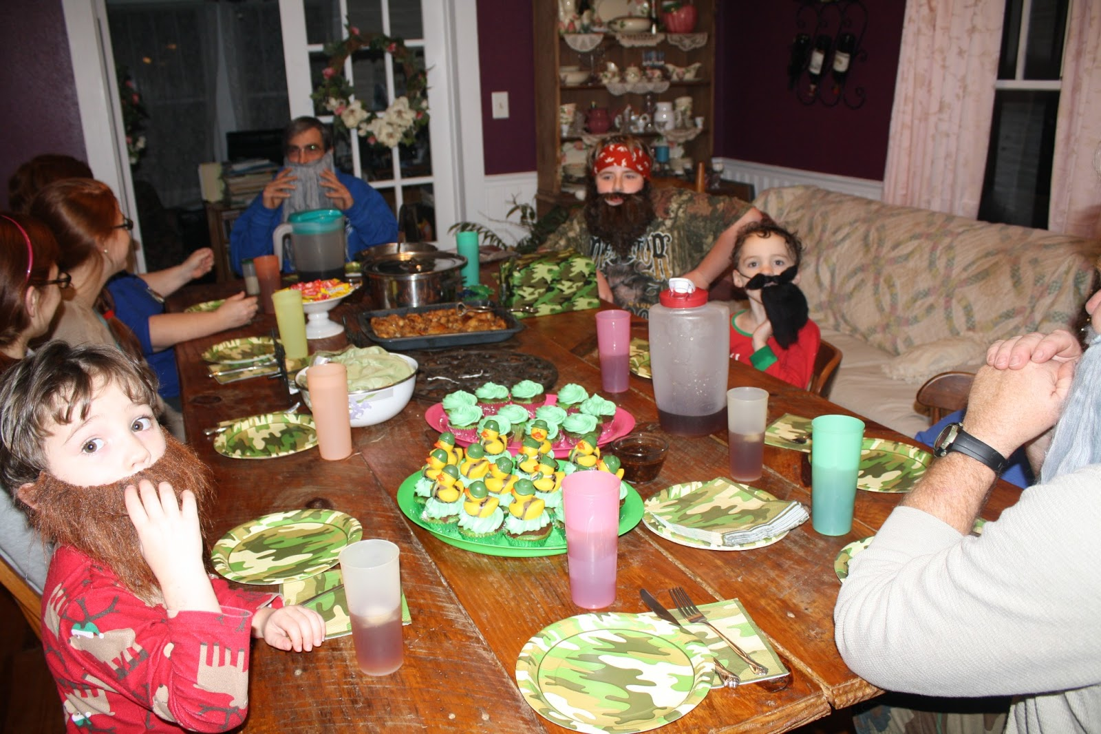 gives you some ideas and you have a great Duck Dynasty party as well