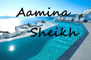 Pakistani Multi Talented Aamina Sheikh Real Facebook Profile and Skype Id