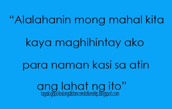 Love Quotes For Him Long Distance Relationship Tagalog : Cute Distance Love Quotes Tagalog. QuotesGram