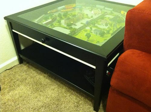 Train Set Coffee Table By Ikea Hackers Allthingabout