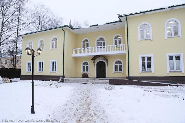 Подарок детям и губернатору – новая школа искусств в Хотькове