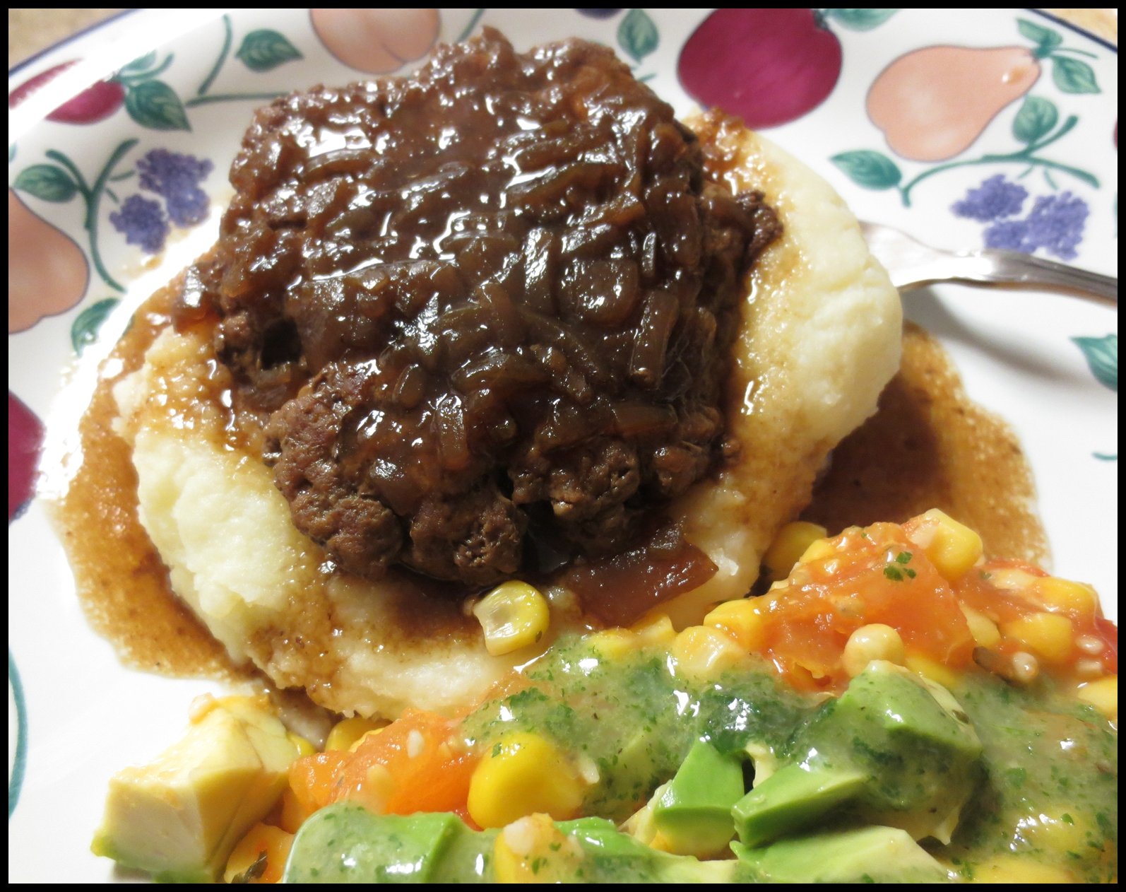 MOMS CRAZY COOKING French ion Burger or Salisbury Steak Style