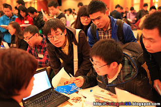 Telling 'Advantage' for Chinese Applicants