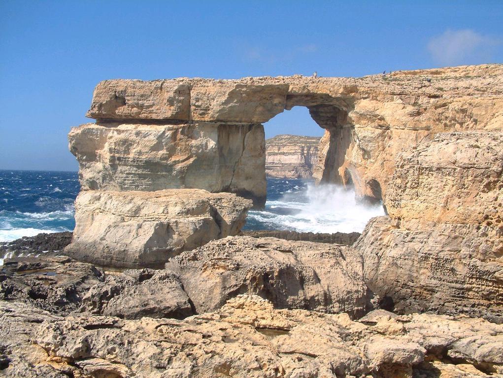 Chi viaggia impara immagini dal mondo malta - La finestra azzurra gozo ...
