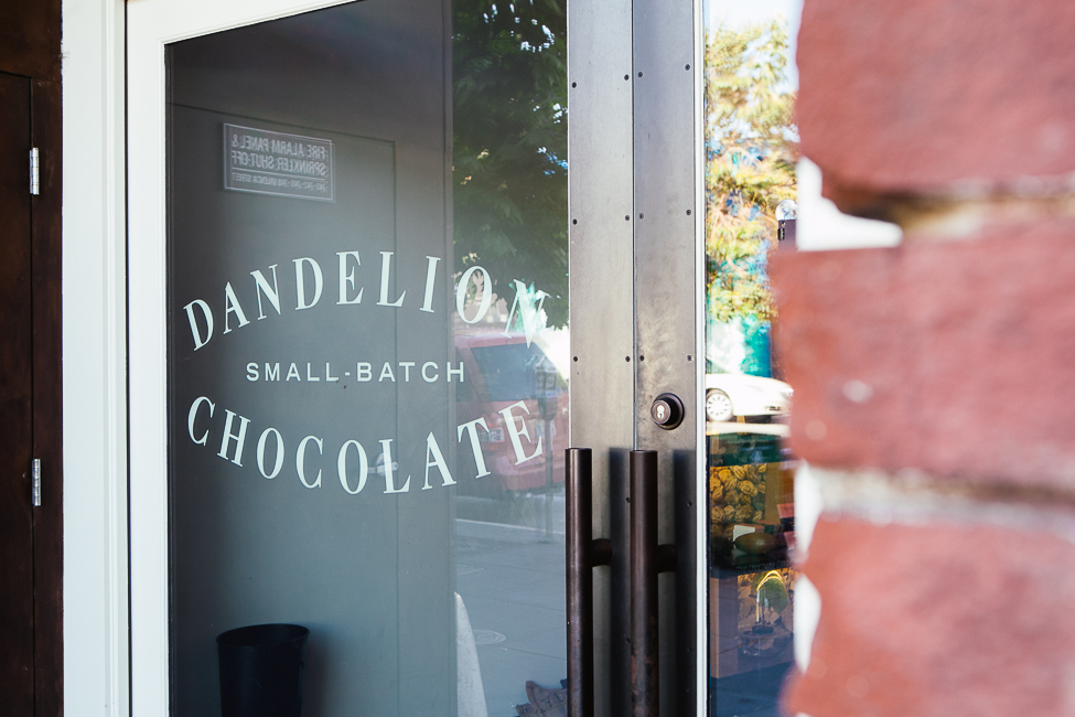 / Dandelion Chocolate