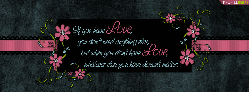 Love Quotes For Facebook
