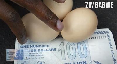 Inflasi Zimbabwe
