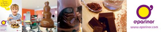 O'Parinor et la Chocolaterie : Un Chocolat Show extraordinaire