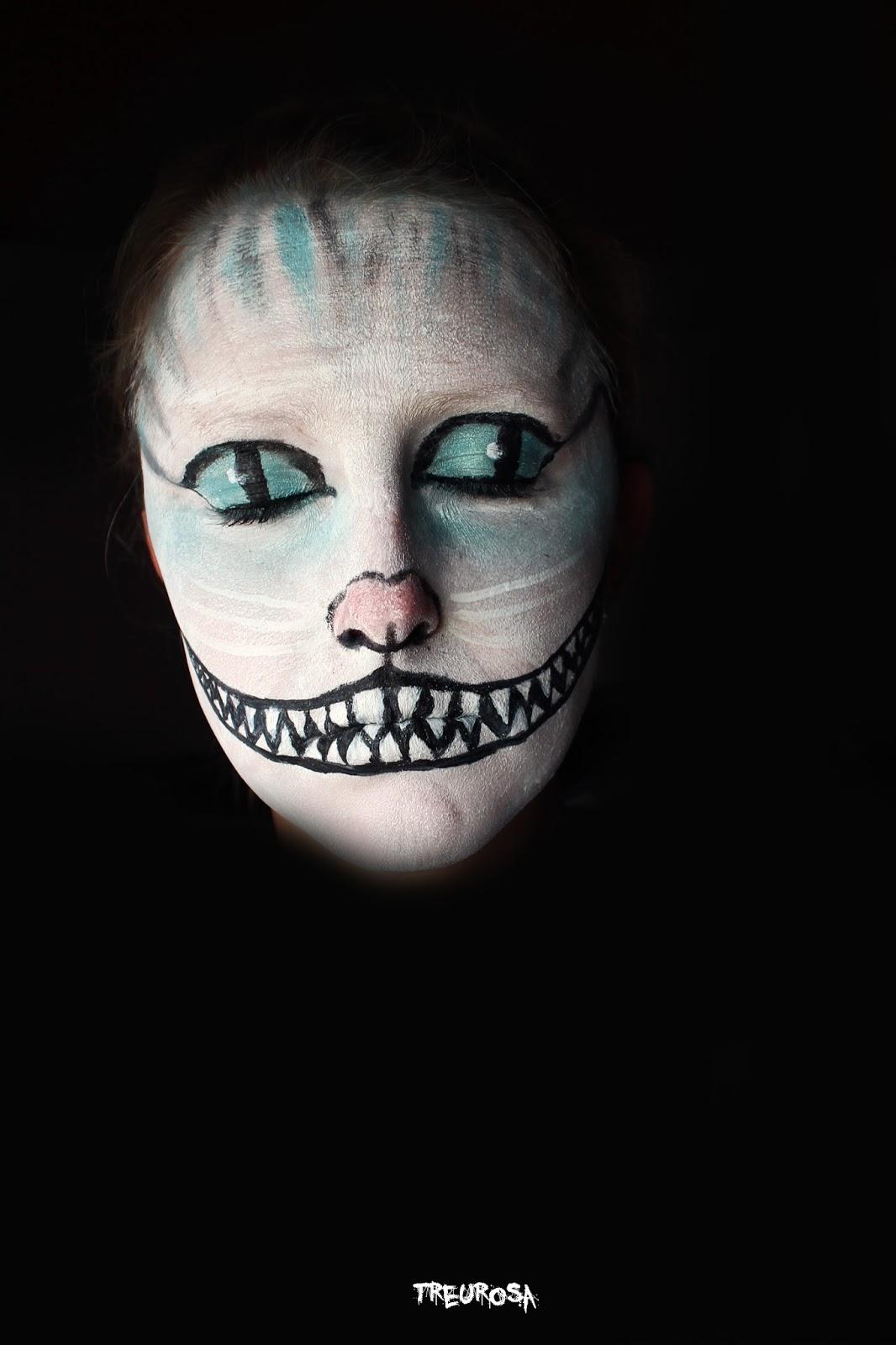 Gewaltig Halloween Schminken Männer Galerie Von Treurosa Make Up Grinsekatze