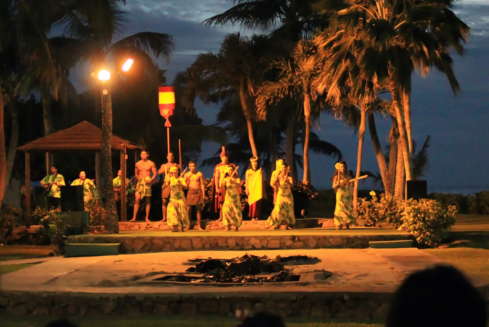 Waiting for the luau pig to be presented. Photo: Just J