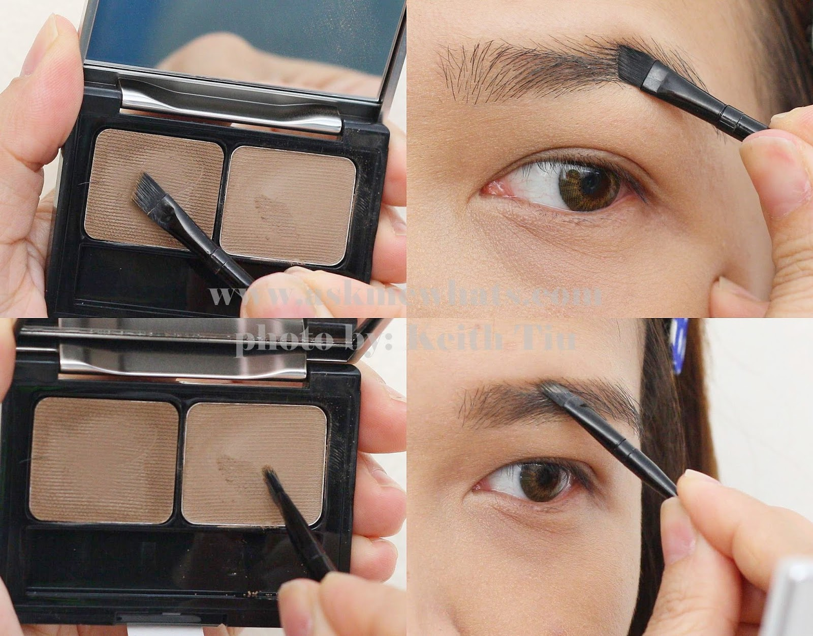eyebrow brush before and after. askmewhats - top beauty blogger philippines skincare makeup review blog eyebrow brush before and after