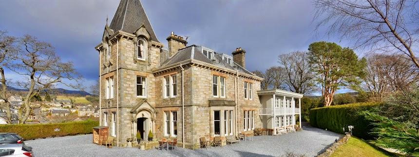 Knockendarroch Hotel & Restaurant in Pitlochry