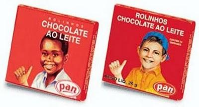 Embalagem dos Rolinhos de Chocolate da Pan