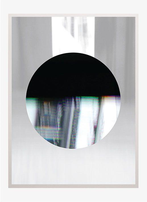 elegangt plakat med spejl effekt og smukke farver