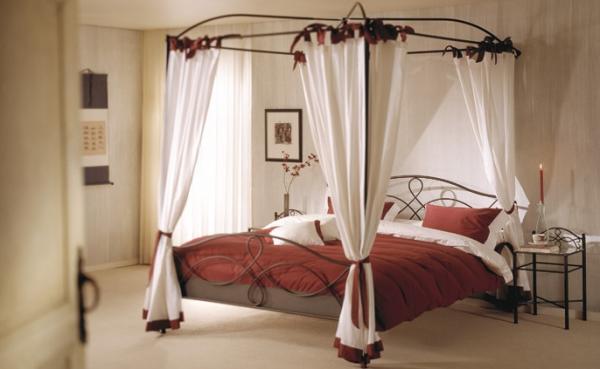 the shopping online lit baldaquin en fer forge. Black Bedroom Furniture Sets. Home Design Ideas