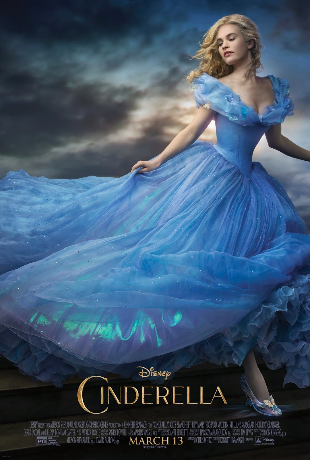 Disney's Cinderella movie poster