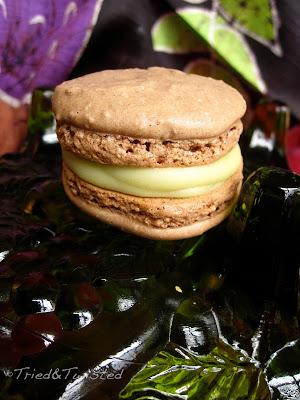 Chocolate Avocado French Macaron | Tried & Twisted