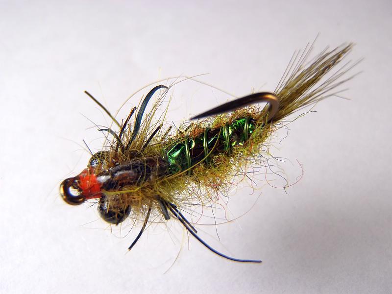 Pat Cohen's Shaggin Dragon Carp Fly