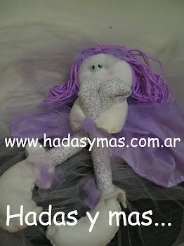 Hada del Bosque lila