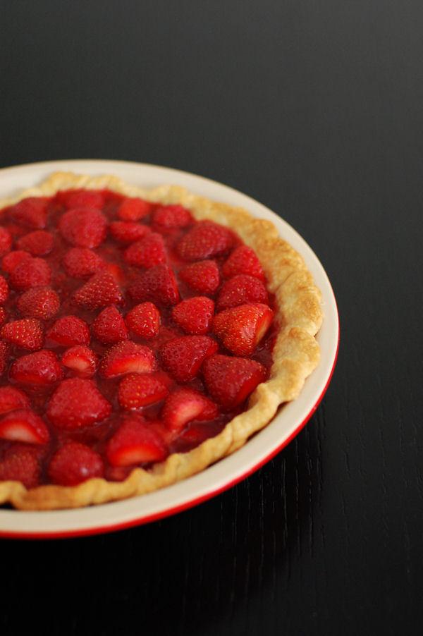 Fresh Strawberry Pie   Beantown Baker