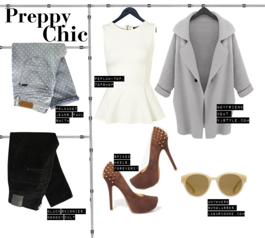 Latest Trends Preppy Chic Style By Lily