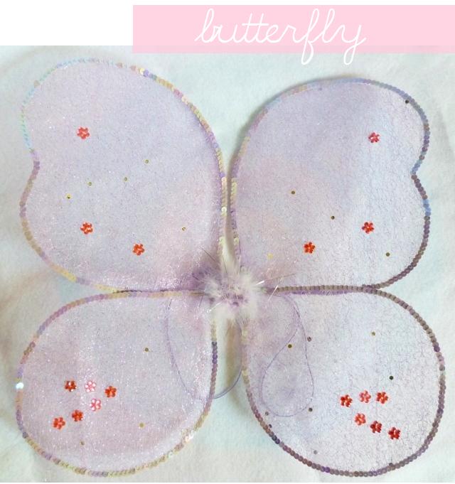 manitas de gato: disfraz mariposa: alas