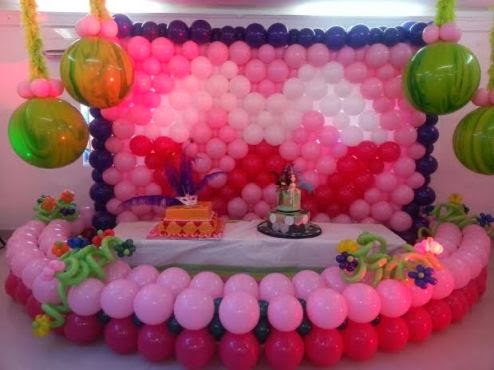 Balloon decoration training comes to lagos and abuja for Balloon decoration course