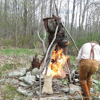 Beltane final sacrifice flames through the eyes of the face