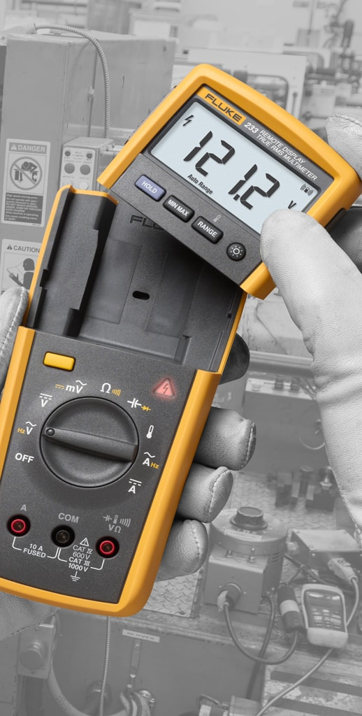 Fluke Capacitor Meter : Fluke measurements capacitance frequency temperature